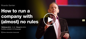 How to run a company with (almost) no rules cover
