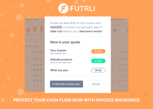 Futrli: Protect cash flow and insure due invoices with Futrli Flow Pro free for 3 months.