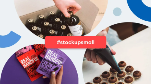 #StockupSmall to support your local small businesses