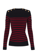 meninas jersey jungle stripes knit 5