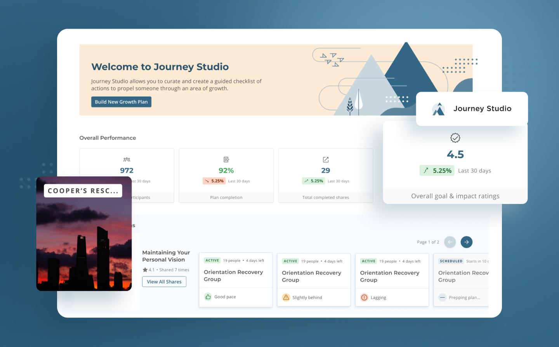 Journey Studio Platform Hero Image