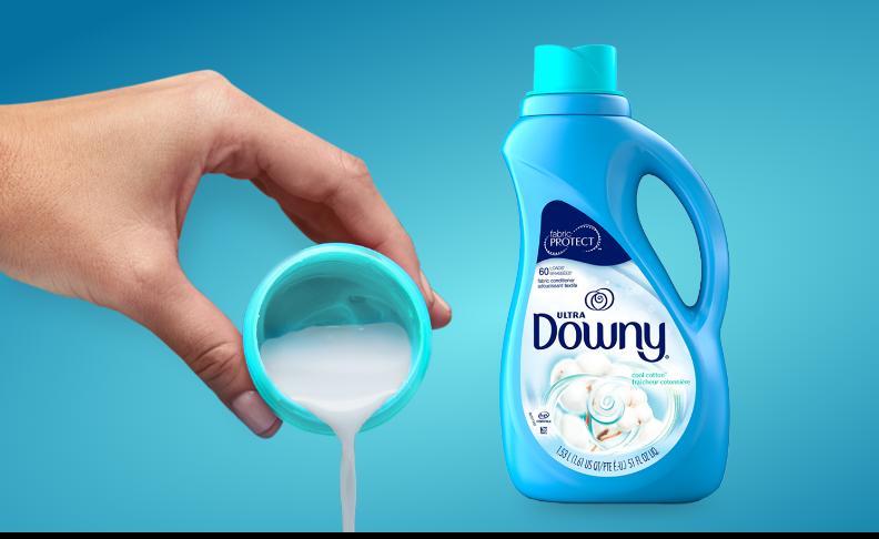 Downy Ultra Cotton Cool Liquid Fabric Conditioner
