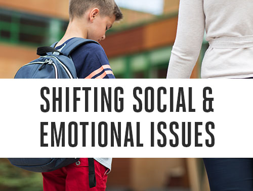 Shifting Social and Emotional Issues to the Foreground