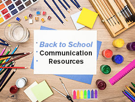 11 Back to School Communication Resources