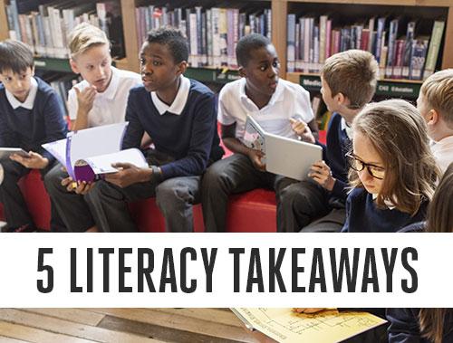 5 Takeaways from HMH's Fall Literacy Leadership Talks