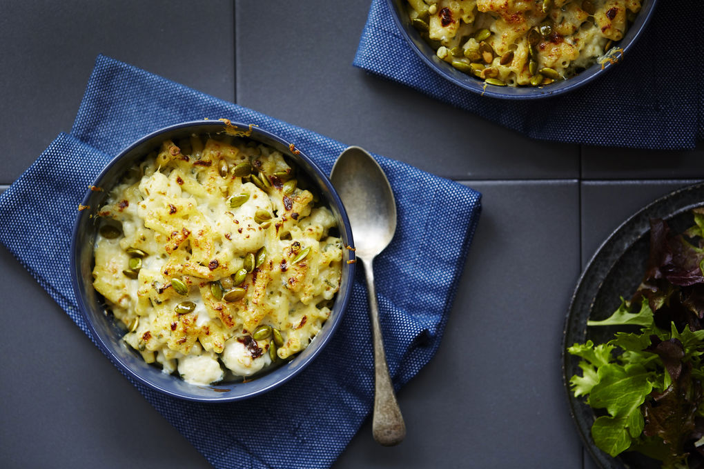 Cauliflower Mac and Three Cheese