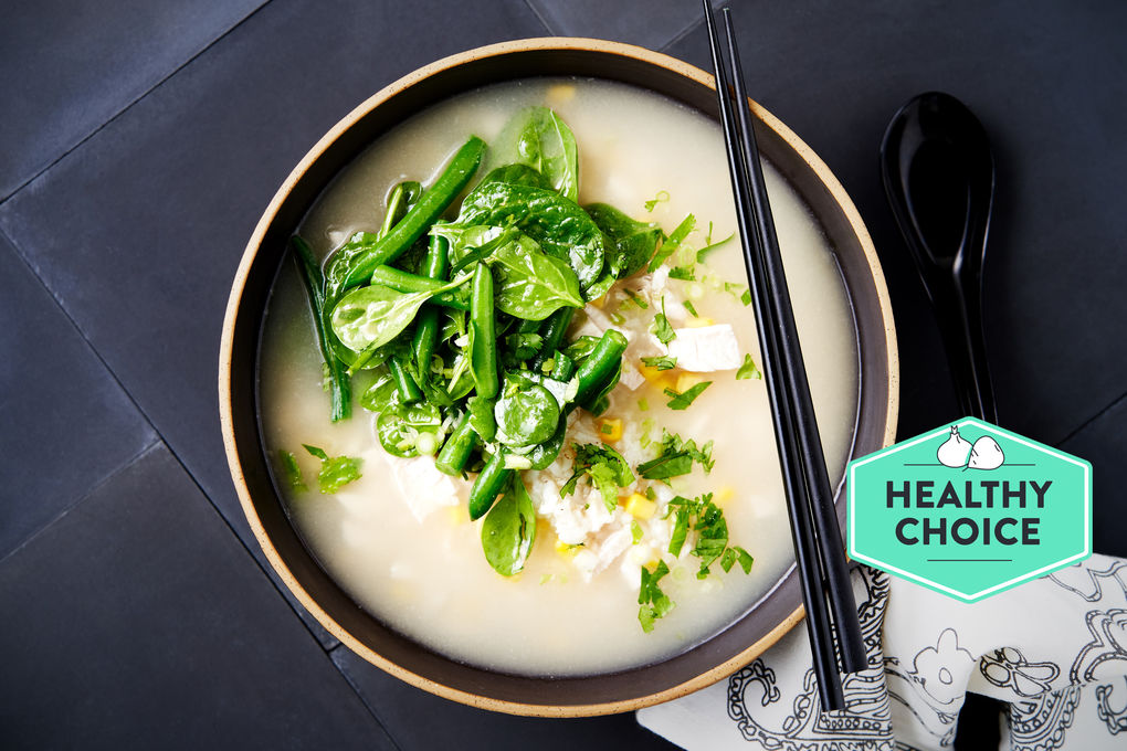 creamy sweetcorn soup hero