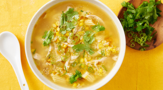 Corn and Chicken Soup