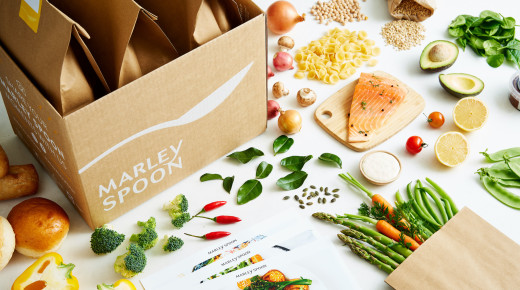 Marley Spoon meal kits box