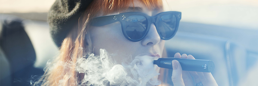 Can you vape on a train or on train platforms?