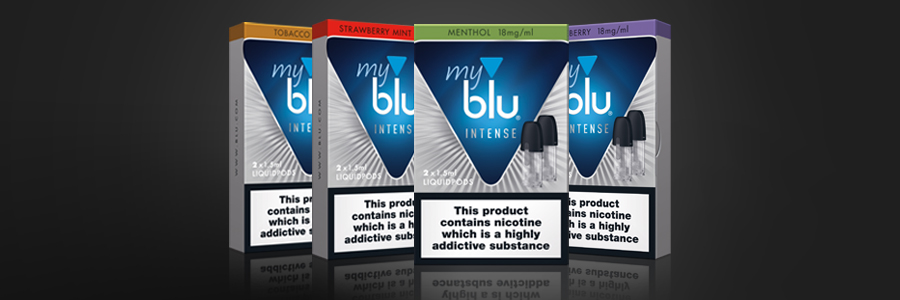 About blu e-cigarette Intense flavours