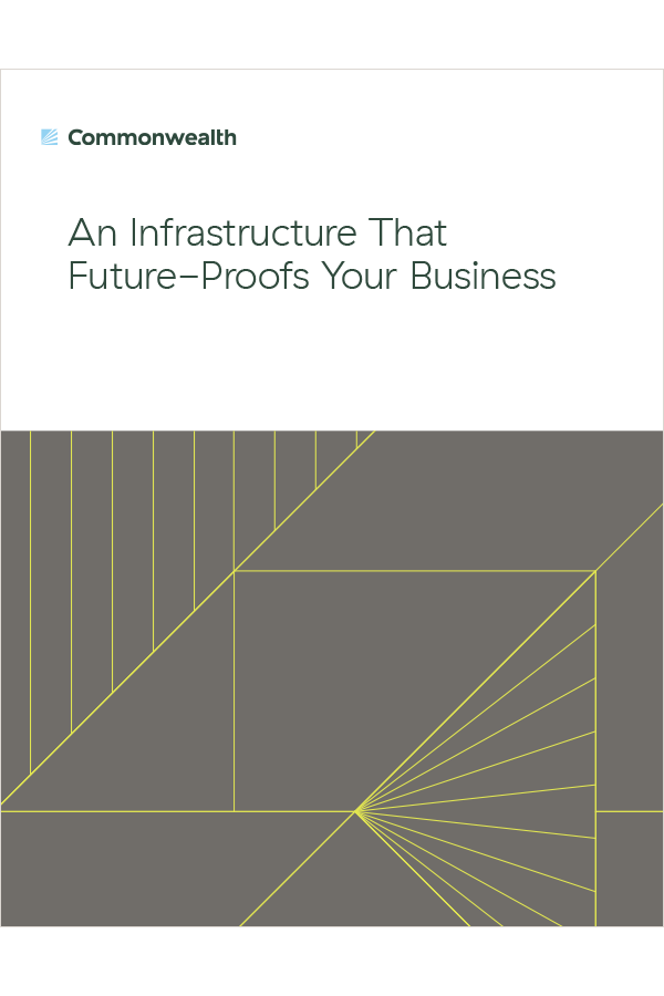 An Infrastructure That Future-Proofs Your Business offer cover
