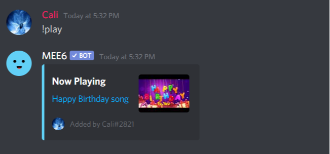 How To Play Music On Discord Set Up The Mee6 Bot To Play Music In Your Discord Voice Channels