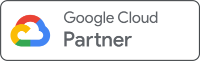 We're an official Google Cloud Partner.