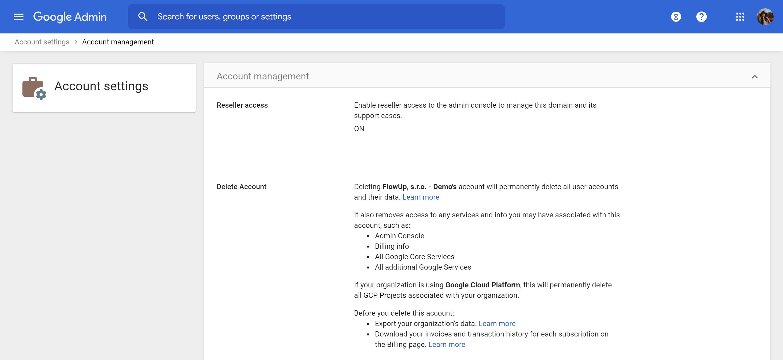 admin.google.com 3