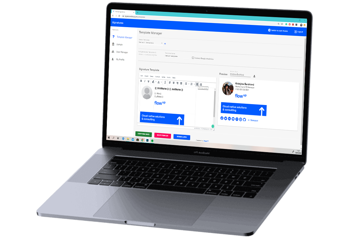 Introducing Signatures for G Suite
