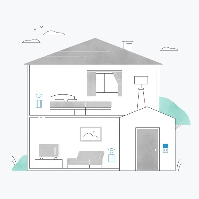 Ring Chime Pro Extra coverage around your home