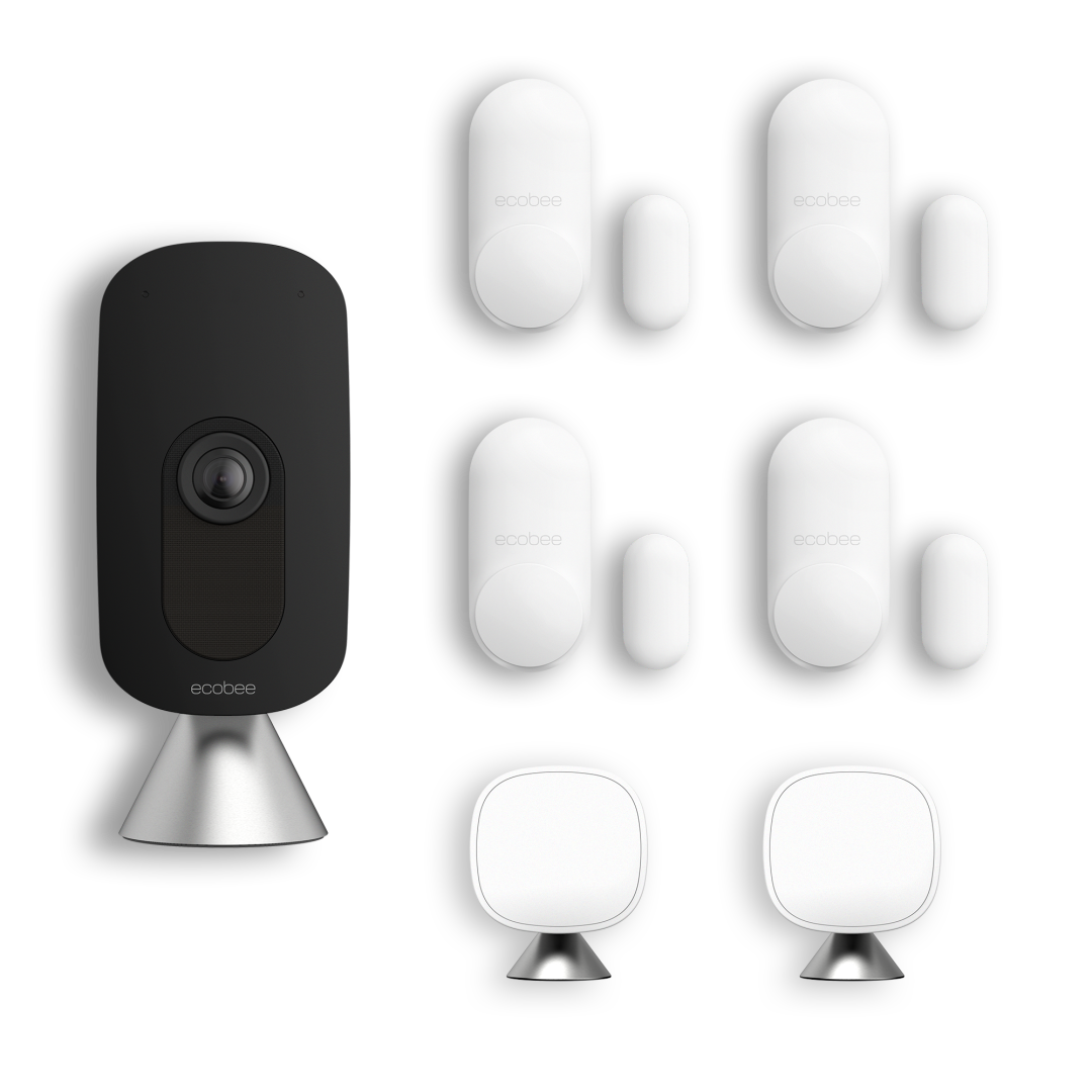 The Home Security Solution on a white background.