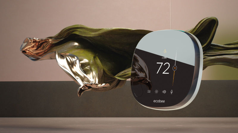 smart thermostat voice control product