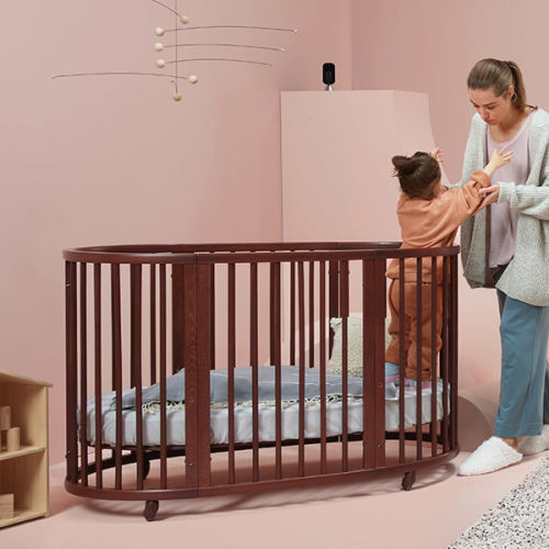home monitoring baby in crib