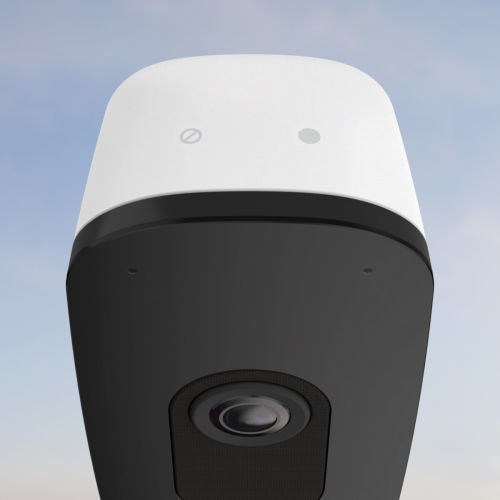 smart camera easy to control top view