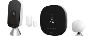 Smart home products smart thermostat smart camera sensors