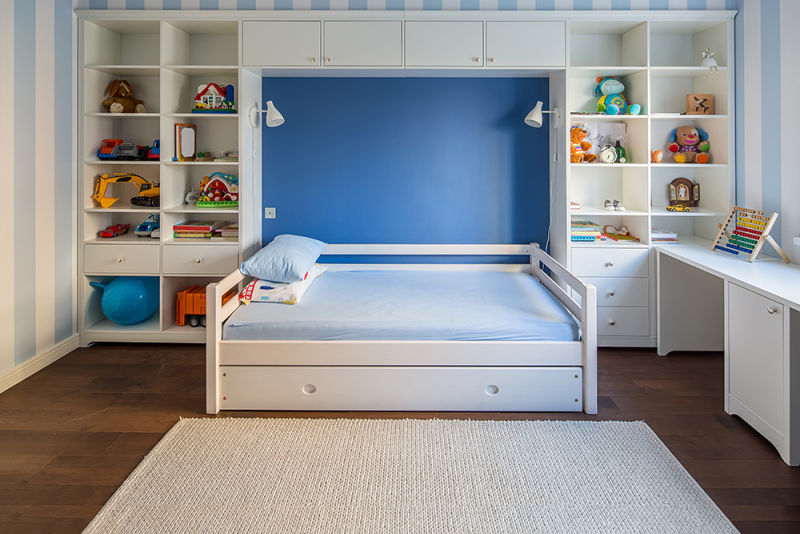 Keep the conversation flowing with a walkthrough of their room (pictured).