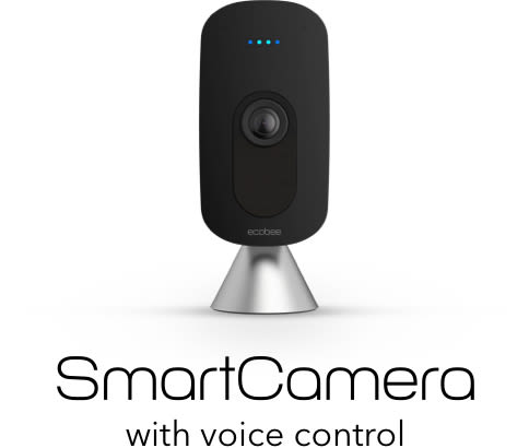 The ecobee SmartCamera with voice control