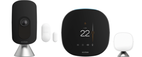 Smart camera smart thermostat and sensors