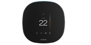 smart thermostat navigation