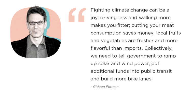 Fighting climate change quote
