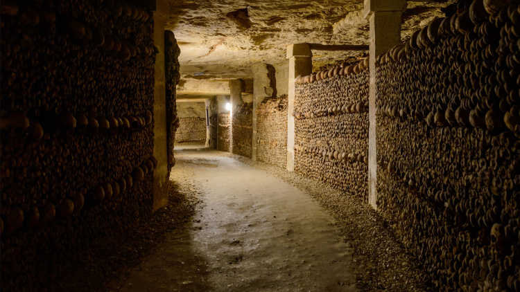 The Catacombs—Paris, France