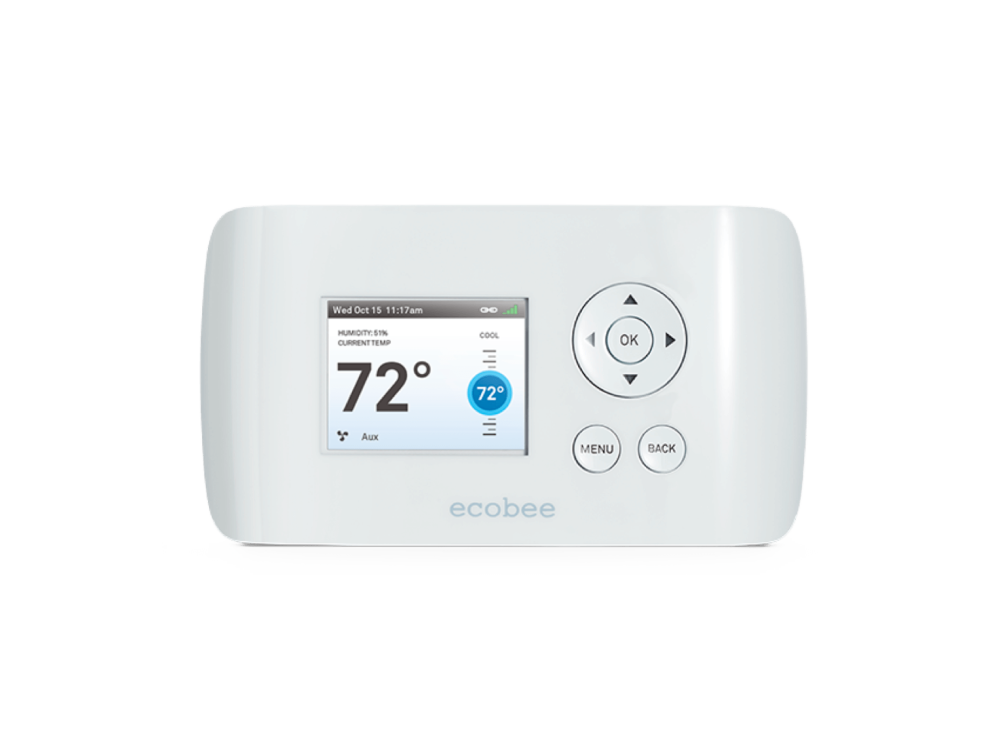 The first smart thermostat