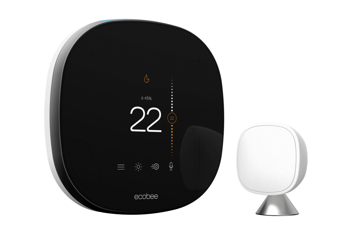 smart thermostat and smart sensor