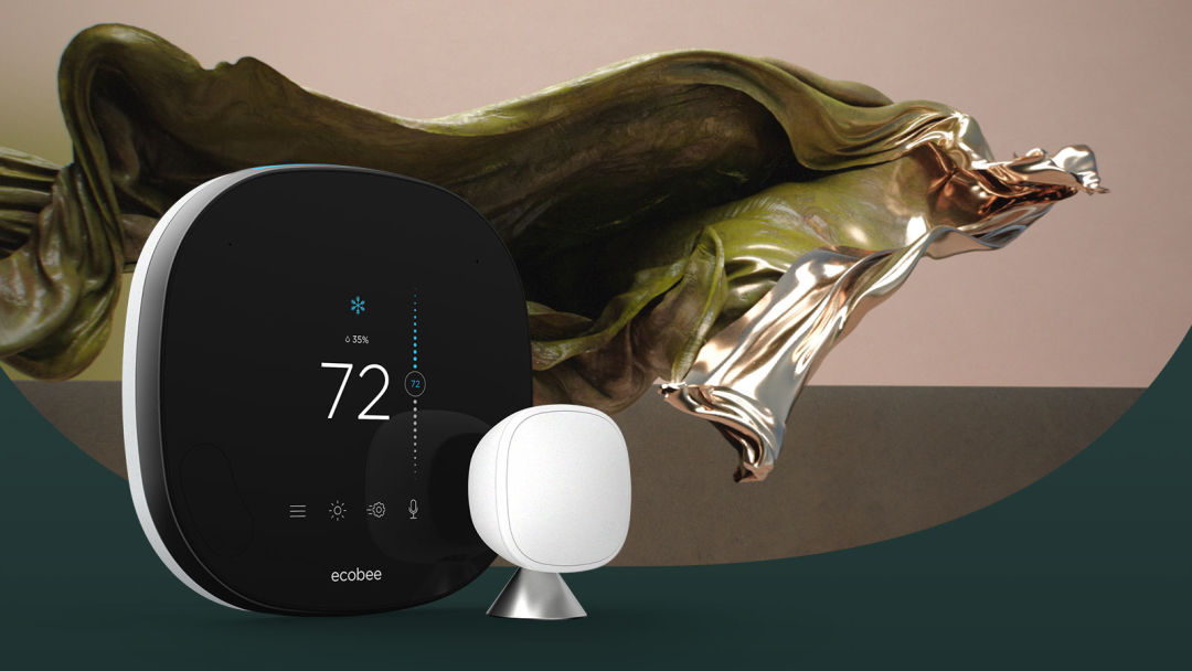 The All-New ecobee SmartThermostat with voice control