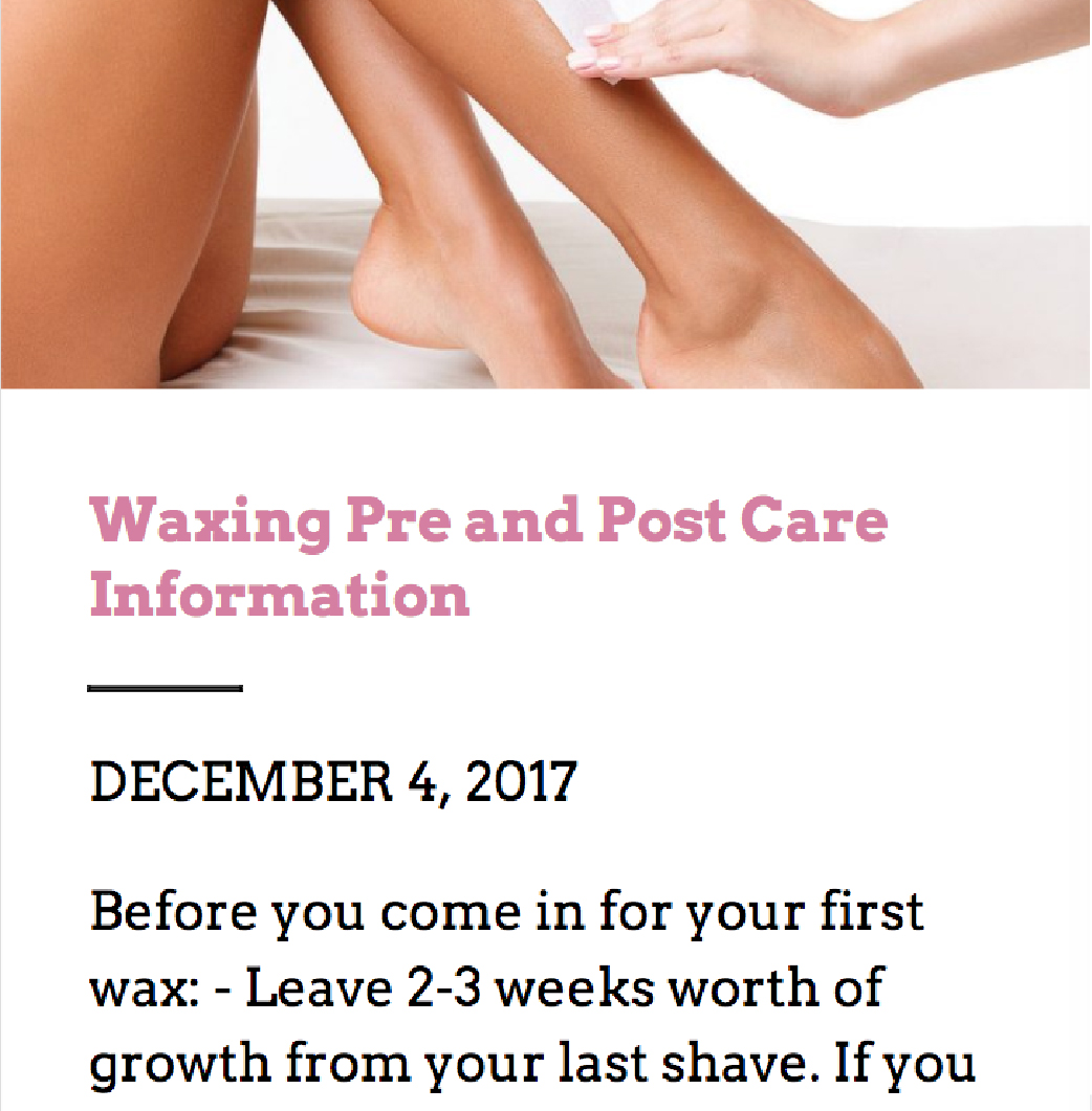 Bare Essentials| Waxing, Microblading and Laser in Waterloo & Guelph