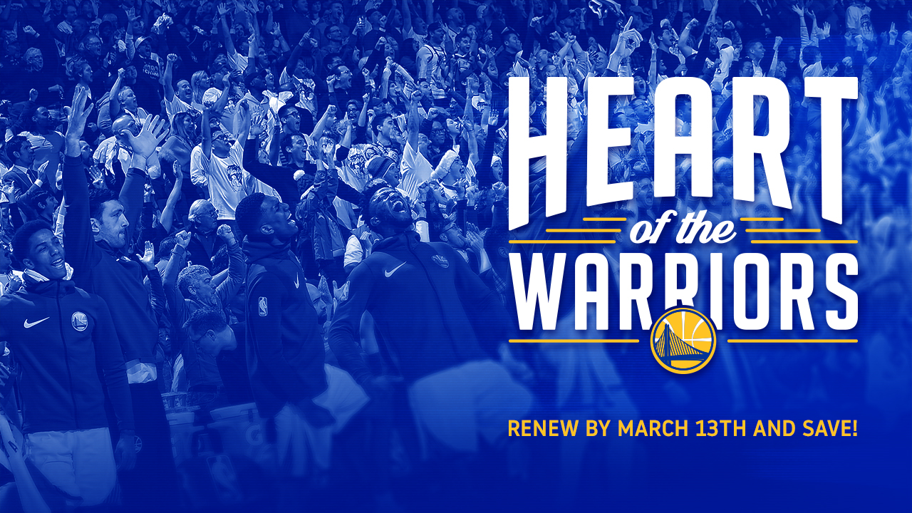 Renew Your Season Tickets at heartofthewarriors.com
