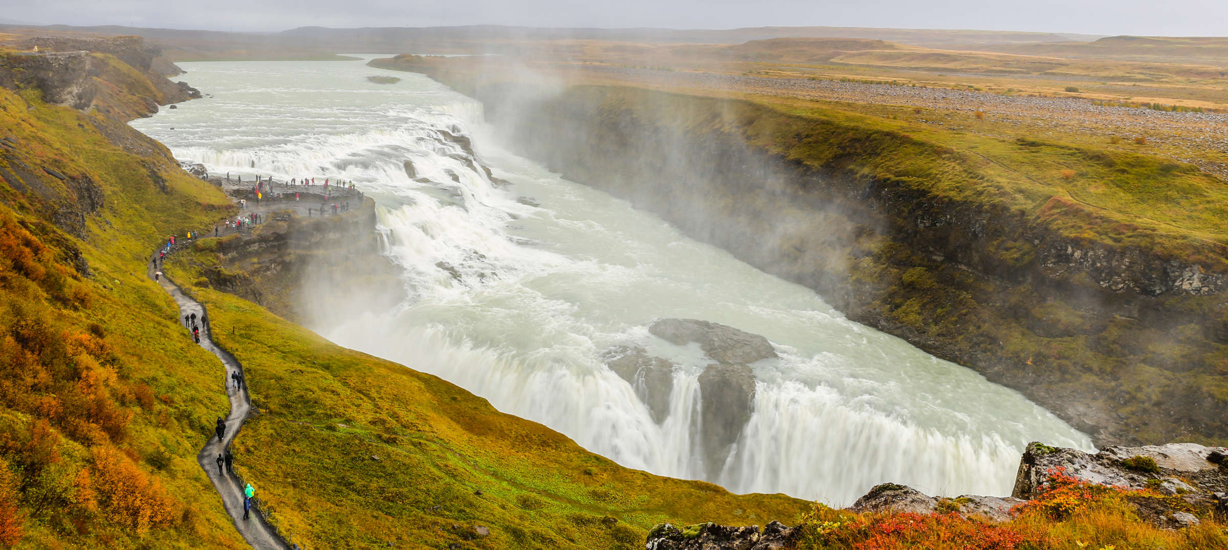 Gullfoss-Autumn