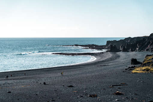 Beach in west Iceland