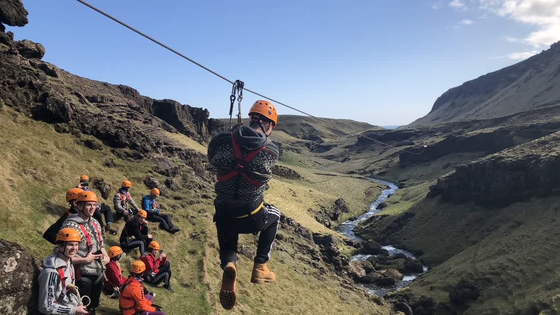 Zipline Adventure in Vík