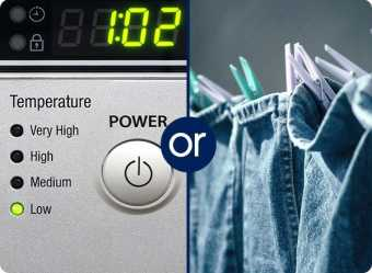 Machine dry on low or line dry your jeans.