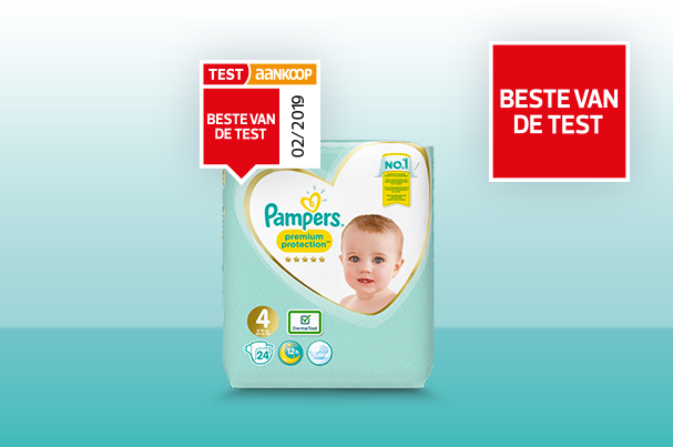 pampers is de beste van de test
