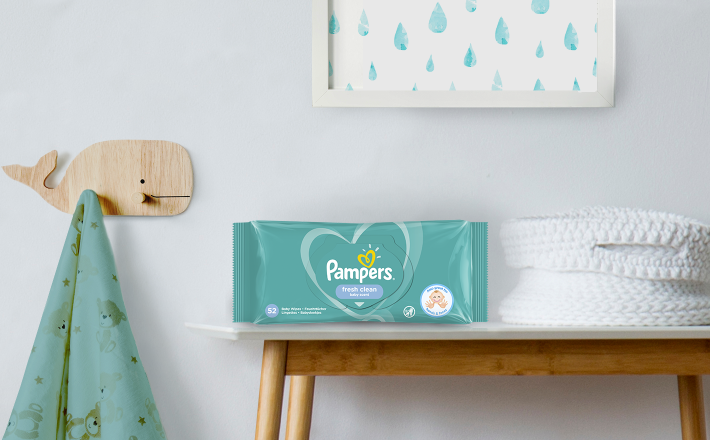 Pampers® Fresh Clean