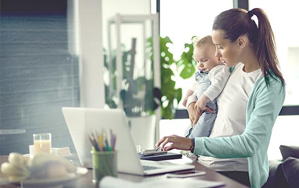 Werkbaar thuiswerken voor jonge ouders
