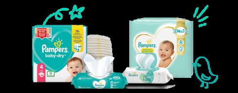 De Pampers® producten