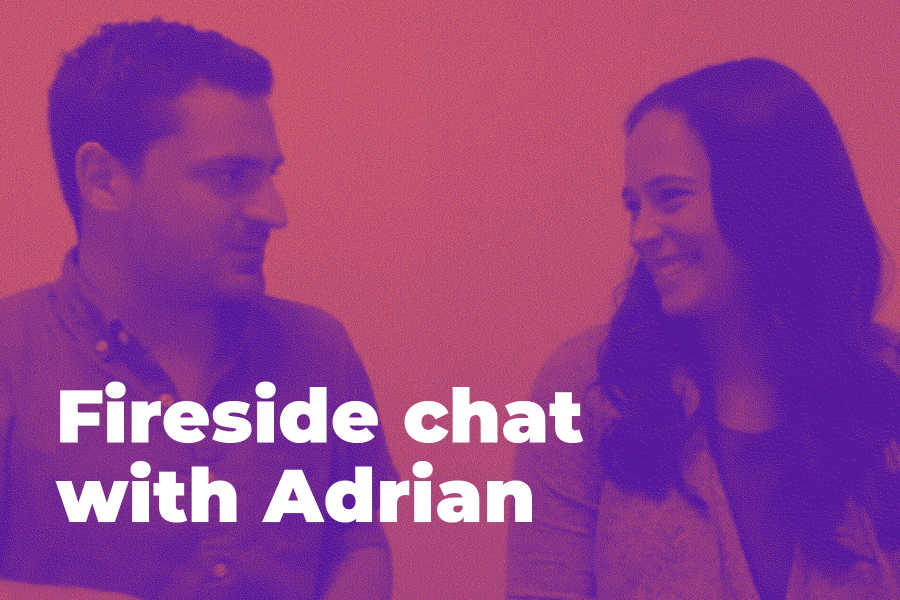 Fireside chat with Adrian: Featuring Kelly Klein