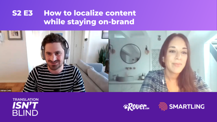 How to localize content while staying on brand