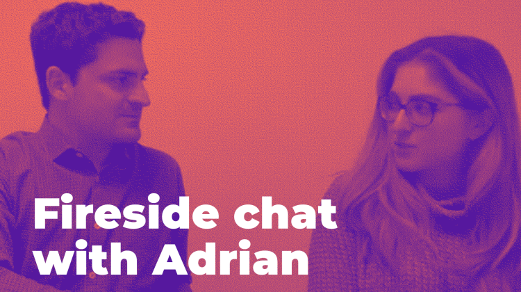 Blog tile - Fireside with Adrian and Rebecca