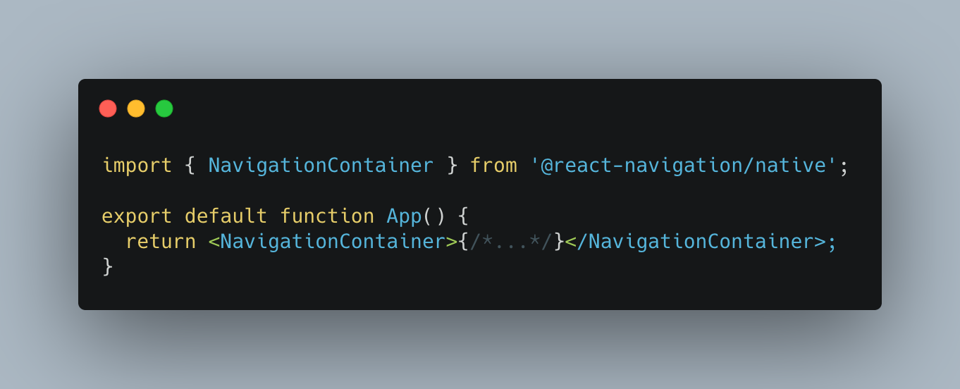 navigationContainer