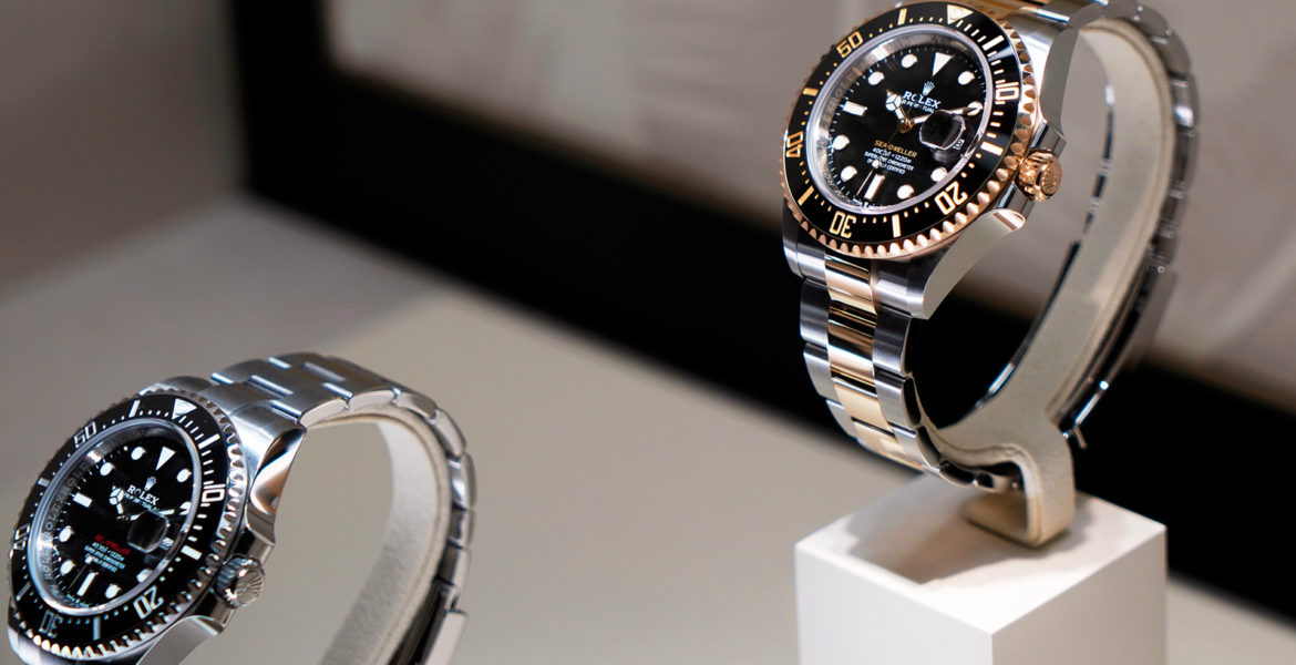 I rather be shiny: The golden Rolex Sea-Dweller at Baselworld 2019